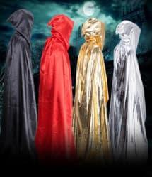 Halloween Elegant Fancy Dress Cloak Costume 130cm