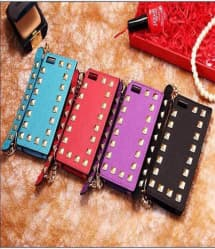 Rockstud iPhone 5 5S Case With Clutch Strap