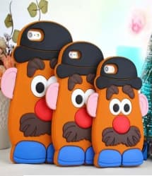 Mr Potato Head Silicone Case for iPhone 5 5S