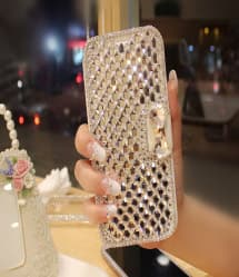 Crystal Studded Bling Case For iPhone 7