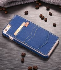 Denim Jeans Pocket Case for iPhone 7 Plus