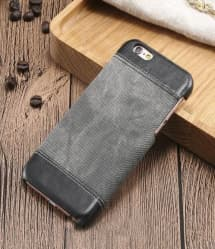Denim and Leather iPhone 7 Plus Case