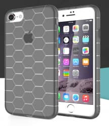 Honeycomb Pattern Shock Drop Resistance Case iPhone 7