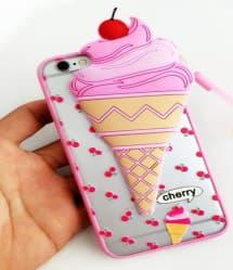 Cute Ice Cream 3D Case for iPhone 7