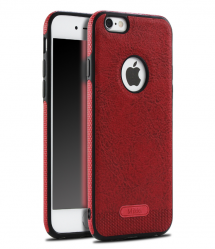 Side Grip Thin Leather Case for iPhone 7