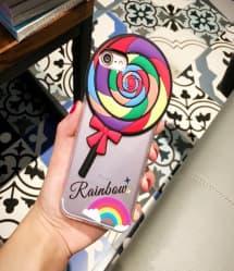 Rainbow Lollipop Case for iPhone 7