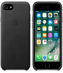 Leather Case for Apple iPhone 7 Black