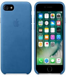 Leather Case for Apple iPhone 7 Sea Blue