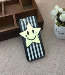 Cute Star Stripe Case for iPhone 7 Plus
