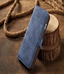 Leather Wallet Case With Latch For iPhone 7 Plus