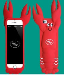Lobster Silicone iPhone 7 Case