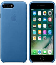 Leather Case for Apple iPhone 7 Plus Sea Blue