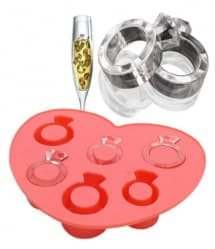Ring Shape Ice Cubes Silicone Ice Cube Tray