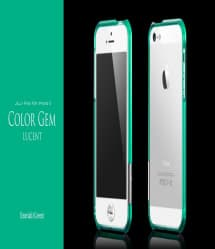 more Color Gem Lucent Jelly Ring for iPhone 5 Emerald Green