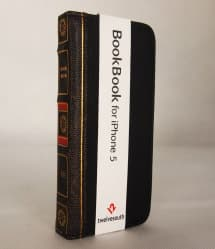BookBook Leather Wallet ID Case Black iPhone 5