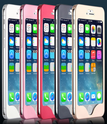 Complete Real Metal Front Back Protective Case for iPhone 6