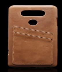 Leather Back Card Holder Case for LG V20