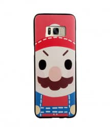 Mario Leather Feel Case for Galaxy S8