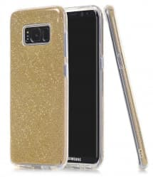 Sparkly Clear Thin Case for Galaxy S8 Plus