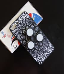 Fidget Spinner Holder Case for Galaxy S8 With Led Spinner