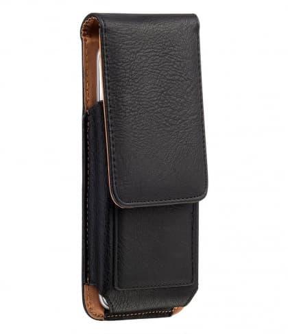 Leather Flip Belt Holster Case for HTC U11