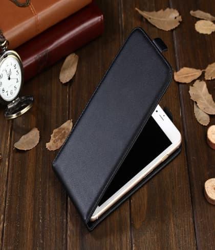 Vertical Leather Flip Case for HTC U11
