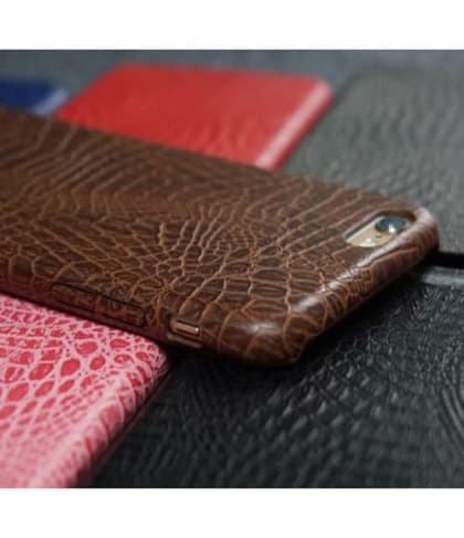 Crocodile Pattern Leather Case for iPhone 7
