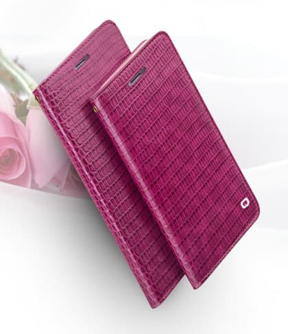 Qialino Real Premium Leather Flip Wallet For iPhone 7