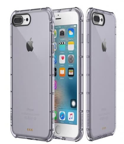 Rock Fence Series iPhone 7 Clear TPU All Around Protective Case