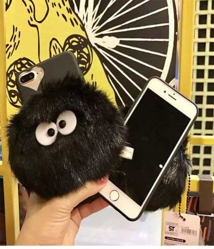Furry Totoro Dust Bunny iPhone 7 Case