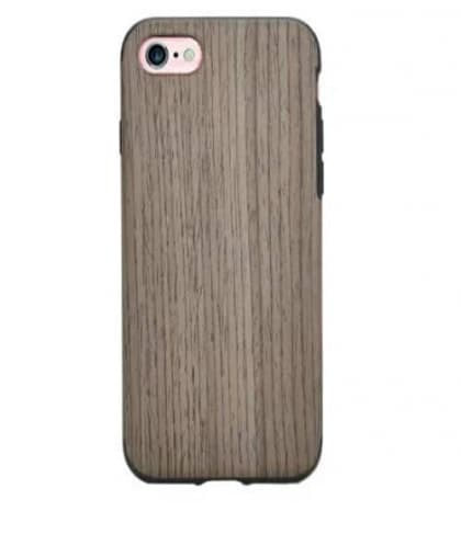 Real Wood Case with Rubber Inside For iPhone 7 Plus