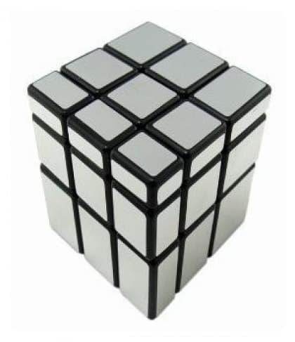 Mirror Magic Cubes - Silver
