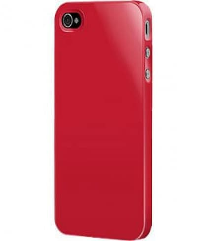 SwitchEasy Red Nude Plastic Case for iPhone 4