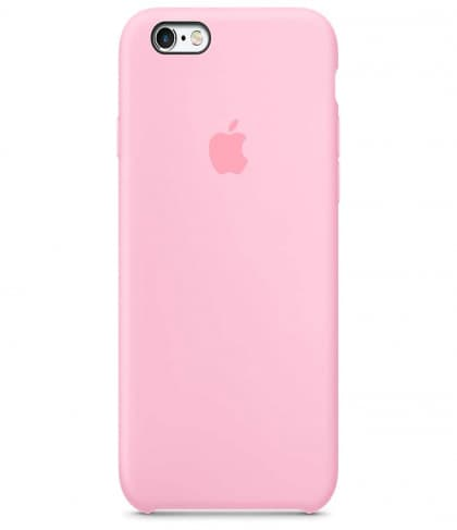 Apple iPhone 6 6s Plus Silicone Case - Light Pink