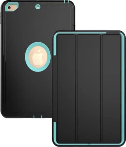iPad 9.7 Defender Case With Stand and Cover Teal