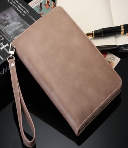 Real Leather Folio Case for iPad 9.7 Inch 5th Gen