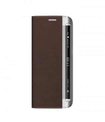 Zenus Buffalo Diary for Galaxy S6 Edge Brown