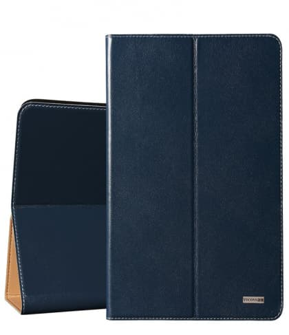 Leather Folio Case With Cardholder For Galaxy Tab S3 9.7""